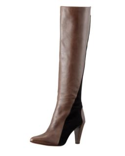 Sammie Two Tone Knee Boot   10 Crosby Derek Lam   Brown/Black (38.5B/8.5B)