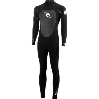 RIP CURL Mens Dawn Patrol Full Sleeve Springsuit   Size: Medium, Black