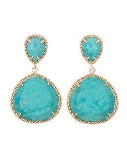 Penny Post Earrings, Turquoise   Kendra Scott   Turquoise