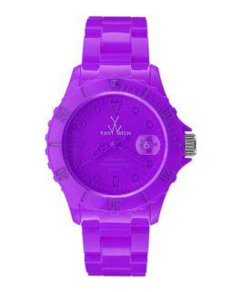 39mm Plasteramic Watch, Violet Purple   Toy Watch   Violet (purple)