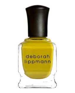 Limited Edition Punk Rock Nail Polish, Iconoclast Yellow   Deborah Lippmann