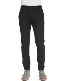 Mens Chino Pants with Rivets, Black   J Brand Jeans   Black (32)