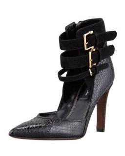 Paloma Ankle Strap Pump, Black   Derek Lam   Black (37.0B/7.0B)