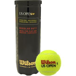 WILSON US Open Regular Duty Tennis Balls   4 Pack