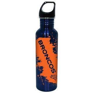 Hunter Denver Broncos Splash of Color Stainless Steel Screw Top Eco Friendly