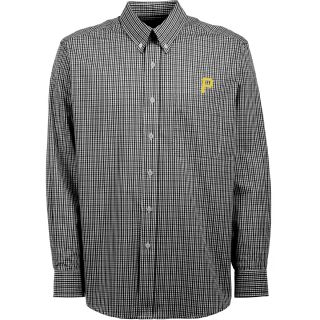 Antigua Pittsburgh Pirates Mens Monarch Long Sleeve Dress Shirt   Size: Medium,