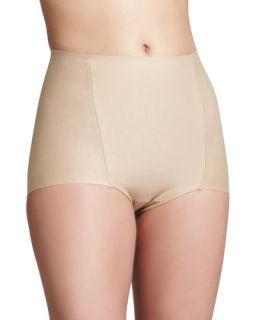 Womens Control Cotton Briefs, True Nude   Commando   True nude (SMALL)