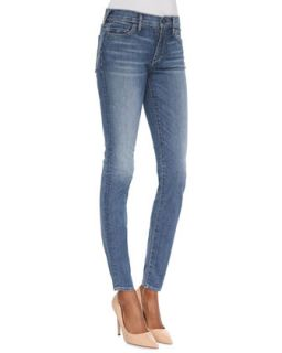 Womens Chrissy Ten Line Mid Rise Ankle Skinny Jeans   True Religion   Ten line