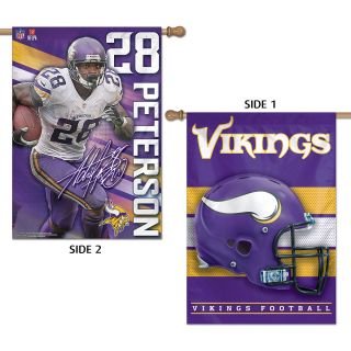 Wincraft Adrian Peterson 28x40  Two Sided Banner (86400013)
