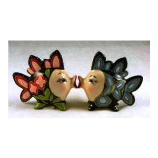 Appletree Design Clown Fish Salt and Pepper Set, 3 Inch: Salt And Pepper Shaker Sets: Kitchen & Dining