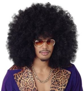 California Costumes Men's Super Jumbo Afro Wig,Black,One Size Clothing