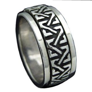 925 Silver CELTIC KNOTS Spinner Ring Hawaiian Silver Jewelry: Jewelry
