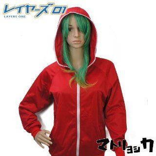 [There is immediate delivery] [domestic shipment] Cosplay VOCALOID matryoshka GUMI (food male) Unisex XL size Parker red XL (hood male) (japan import): Toys & Games