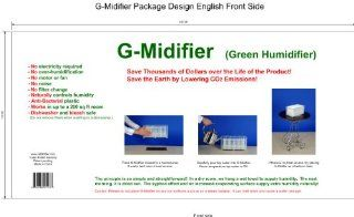 G Midifier (Green Humidifier). Save Thousands of Dollars Over the Life of the Product! Save the Earth By Lowering Co2 Emissions !   Single Room Humidifiers