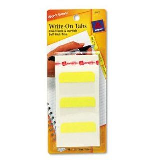 Avery Self Adhesive Write On Index Tabs : Electronics