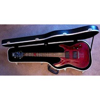 Schecter Damien Special Electric Guitar   Crimson Red Musical Instruments