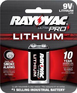Ray O Vac UP9VL1 Ultra Pro Lithium Batteries, 9V  Electronics