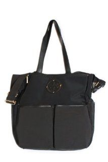 Tory Burch Billy Baby Bag in Black : Diaper Tote Bags : Baby