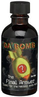 Da'Bomb The Final Answer Hot Sauce, 2 Ounce Glass Bottle : Hottest Hot Sauce In The World : Grocery & Gourmet Food