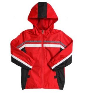 iXtreme Infant Baby Boys Red Black Hooded All Weather Spring Raincoat Jacket: Clothing