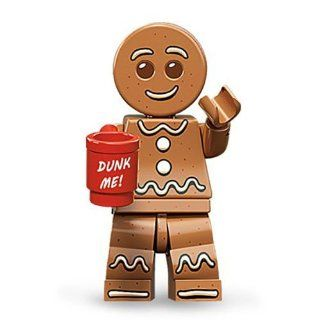 LEGO Minifigures Series 11 Gingerbread Man Mini Figure: Toys & Games