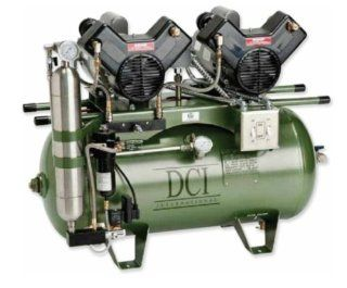 DCI Oil less Air Compressors   10 user 3 hp /triple head 30 Gal /230Vac