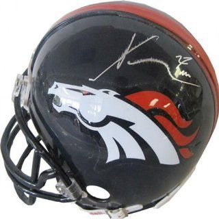 Knowshon Moreno Autographed / Signed Denver Broncos Mini Helmet at 's Sports Collectibles Store