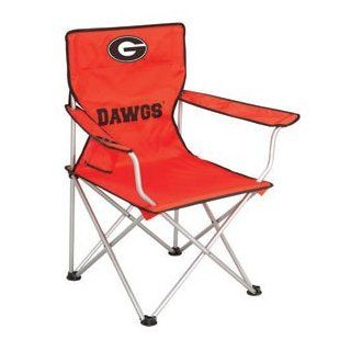 Georgia Bulldogs NCAA Deluxe Folding Arm Chair by Northpole Ltd. : Sports & Outdoors