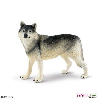 Safari Ltd Wildlife Wonders Wolf: Toys & Games