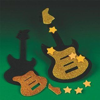 Foam Guitar Craft Kit (makes 12): Toys & Games