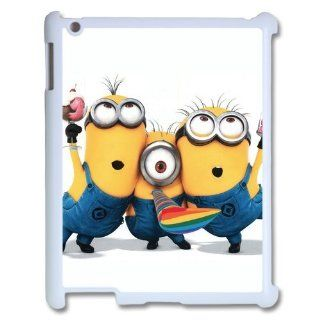 Despicable Me Ipad 3 Case Funny Cartoon Despicable Me 2 Cases Cover Yellow at abcabcbig store Computers & Accessories