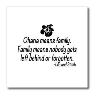 ht_163985_3 ToryAnne Collections Quotes   Ohana means family.   Iron on Heat Transfers   10x10 Iron on Heat Transfer for White Material Patio, Lawn & Garden