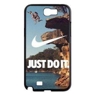 Nike logo means perseverance to do anything just do it New Design Protective Cases Cover for Samsung Galaxy Note 2 N7100 Electronics