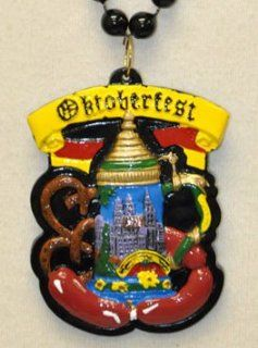 Octoberfest Mardi Gras Bead Necklace New Orleans German Germany Munich Beads Party