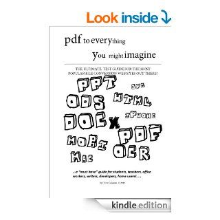 pdf to everything you might imagine eBook Christos Galousis Kindle Store