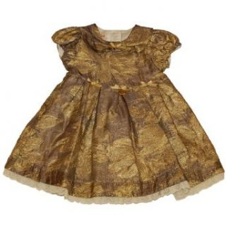 Miss Blumarine Metallic Dress (12 m): Special Occasion Dresses: Clothing