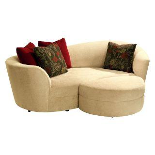 Lazar Cecillia Condo Sofa with 4 Matching Pillows   Sofas