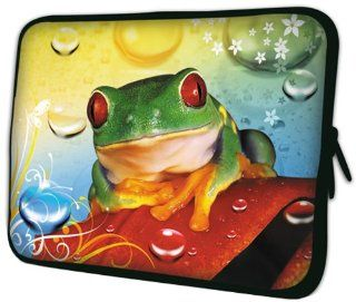 13 inch Tropical Rainforest Frog on Leaf Notebook Laptop Sleeve Bag Carrying Case for most of MacBook, Acer, ASUS, Dell, HP, Lenovo, Sony, Toshiba: Computers & Accessories