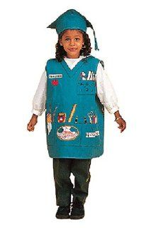 Dexter Toys Dress Up Costume   Teacher   Fits Most Ages 3 to 7 Toys & Games