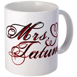 Mrs. Channing Tatum Mug Mug by CafePress: Kitchen & Dining