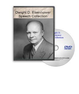 Dwight D. Eisenhower Speeches  DVD   Ike Speaks on Peace, World Interdependence, the Cross of Iron, Atomic Capabilities of the U.S., Middle East Sovereignity and Much More Movies & TV