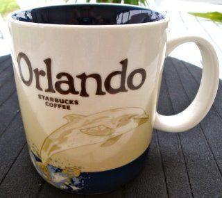 Starbucks Orlando City Series Dolphin Coffee Mug Kitchen & Dining