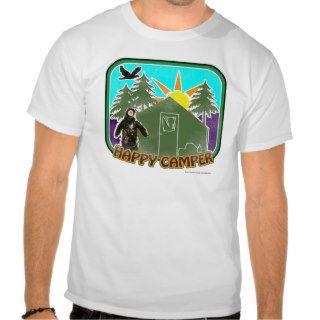 Happy Camper Color T shirts
