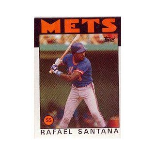 1986 Topps #587 Rafael Santana at 's Sports Collectibles Store