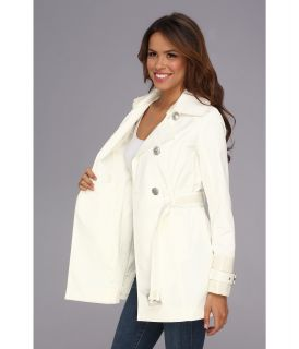 Jessica Simpson Belted Trench Coat JOFMC638 Off White