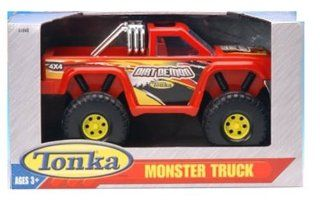 Tonka Monster Truck 4x4 Red Dirt Demon: Toys & Games