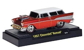 Chevrolet Nomad Tuning, copper/ivory, 1957, Model Car, Ready made, M2 Machines 164 Toys & Games