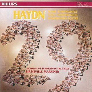 Haydn: 29 Name Symphonies: Music