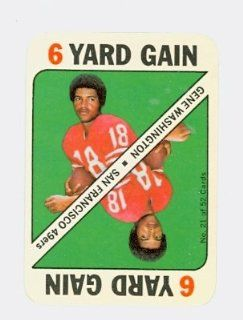 1971 Topps Football Game 21 Gene Washington 49ers Near Mint at 's Sports Collectibles Store