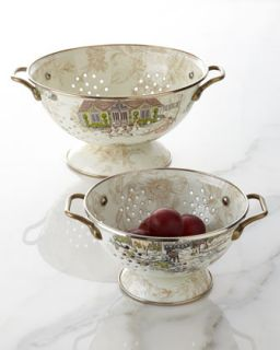 Small Aurora Colander   MacKenzie Childs